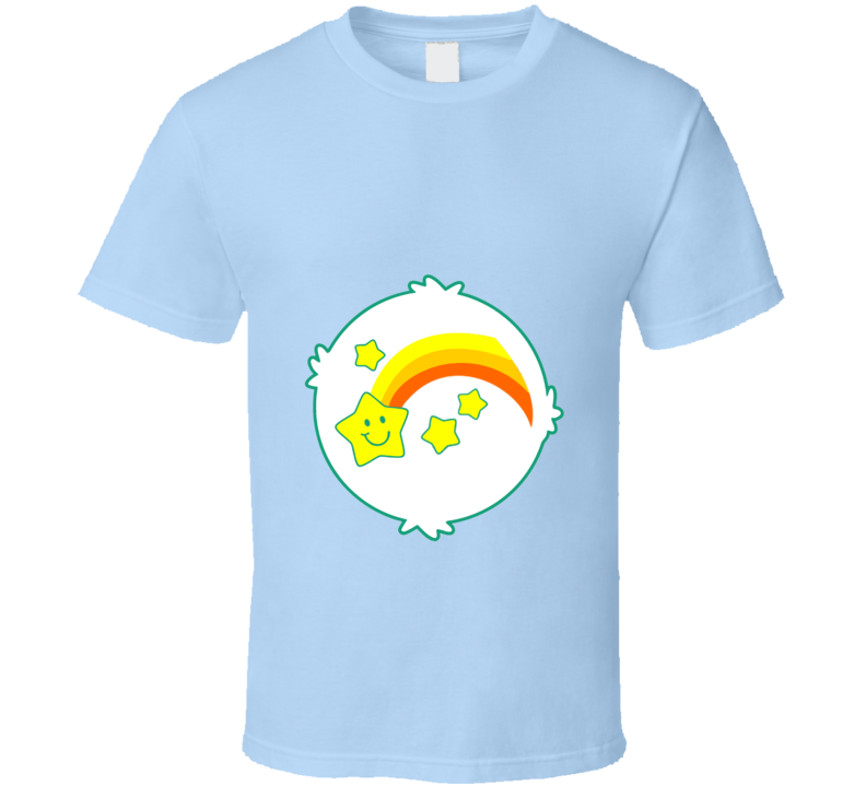 Wish Bear Care Bears Cool Cartoon Fan T Shirt
