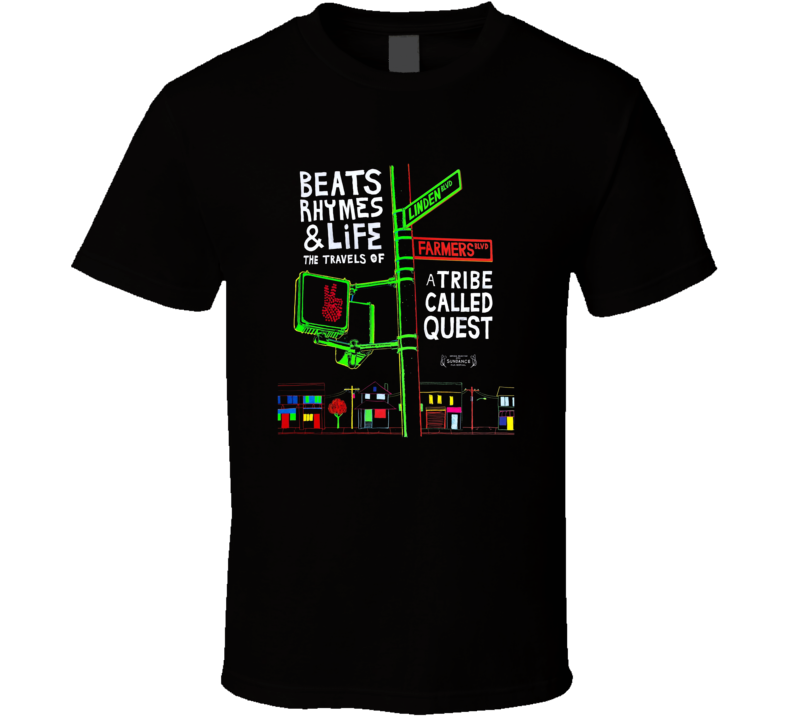 Beats Rhymes And Life Movie  Fan T Shirt