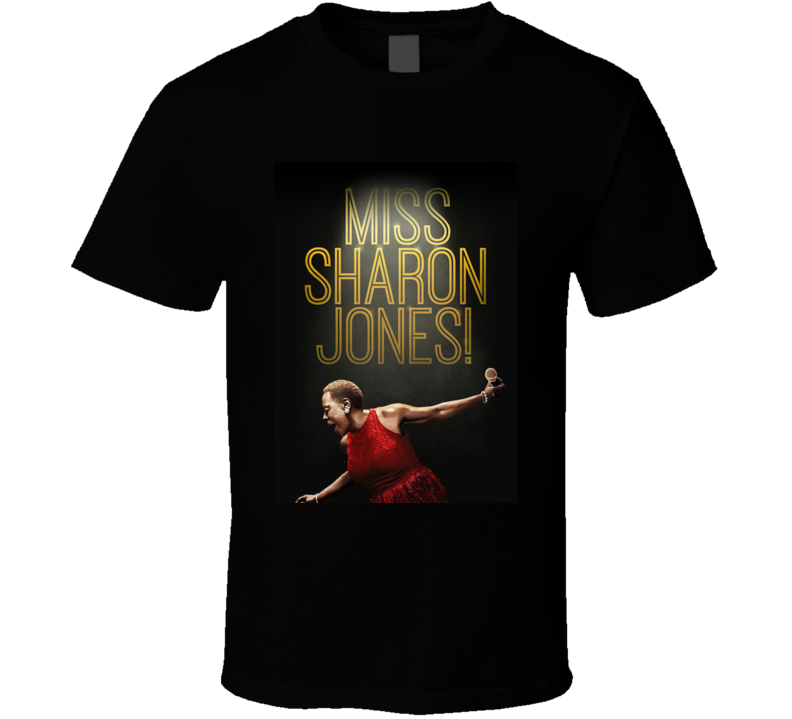 Miss Sharon Jones Movie  Fan T Shirt