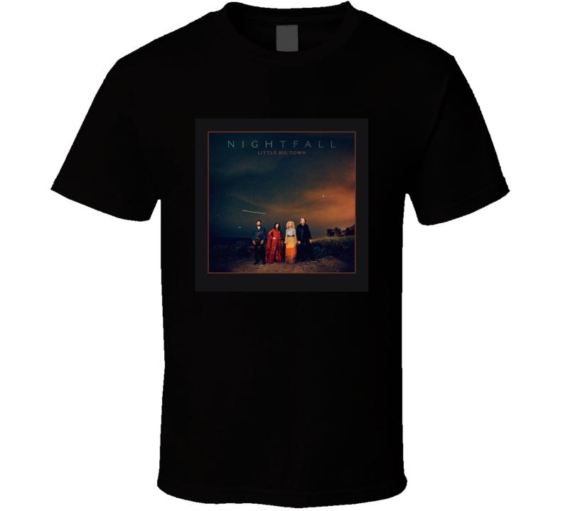 Nightfall Top Country Album Music Lovers T Shirt