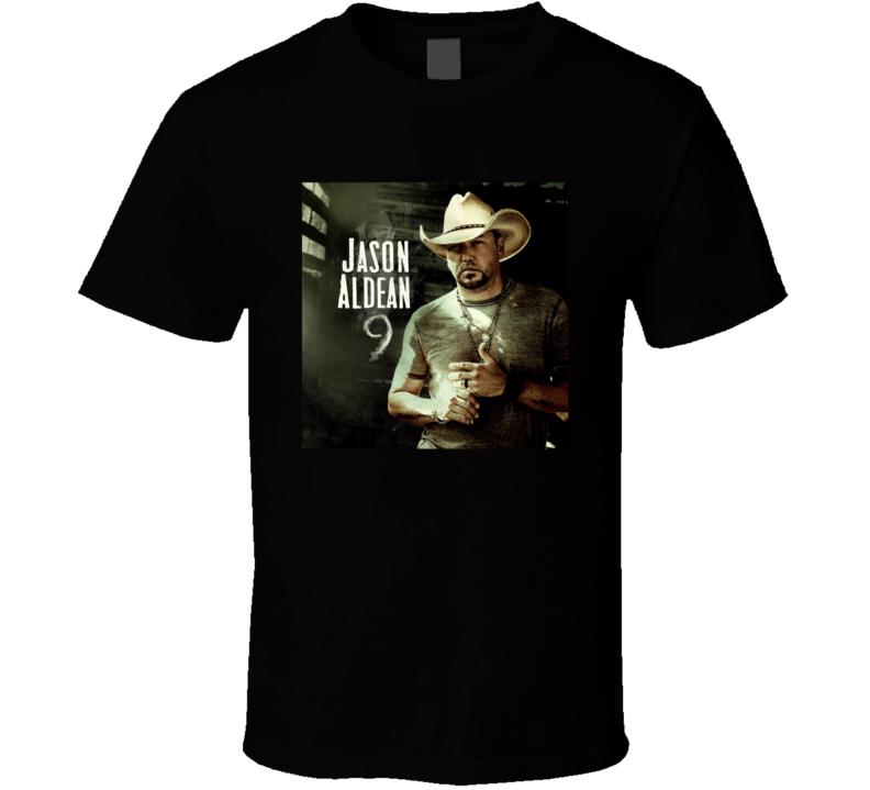 Jason Aldean 9 Top Country Album Music Lovers T Shirt