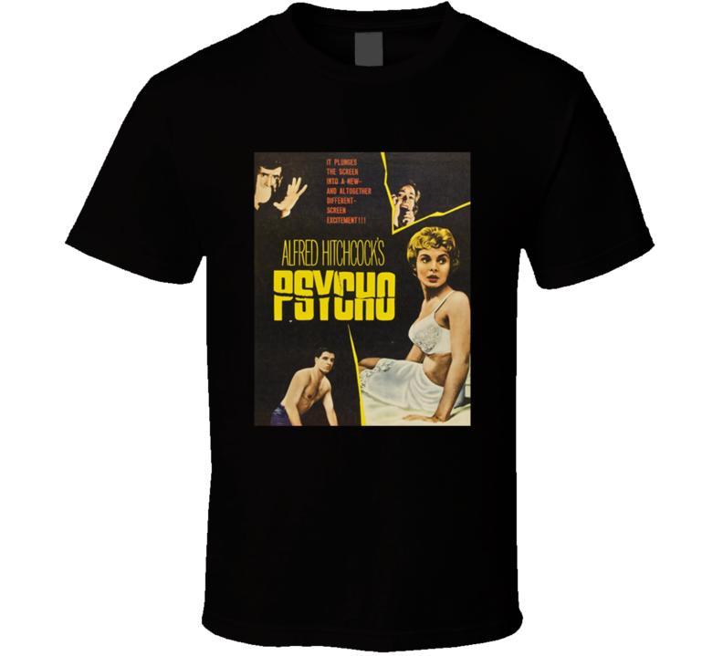 Psycho Greatest Halloween Movie Fan T Shirt