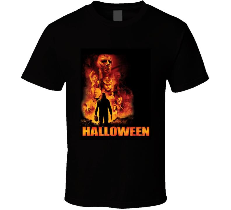 Halloween 2007 Greatest Halloween Movie Fan T Shirt