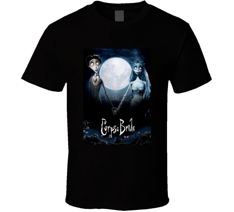 Corpse Bride Greatest Halloween Movie Fan T Shirt