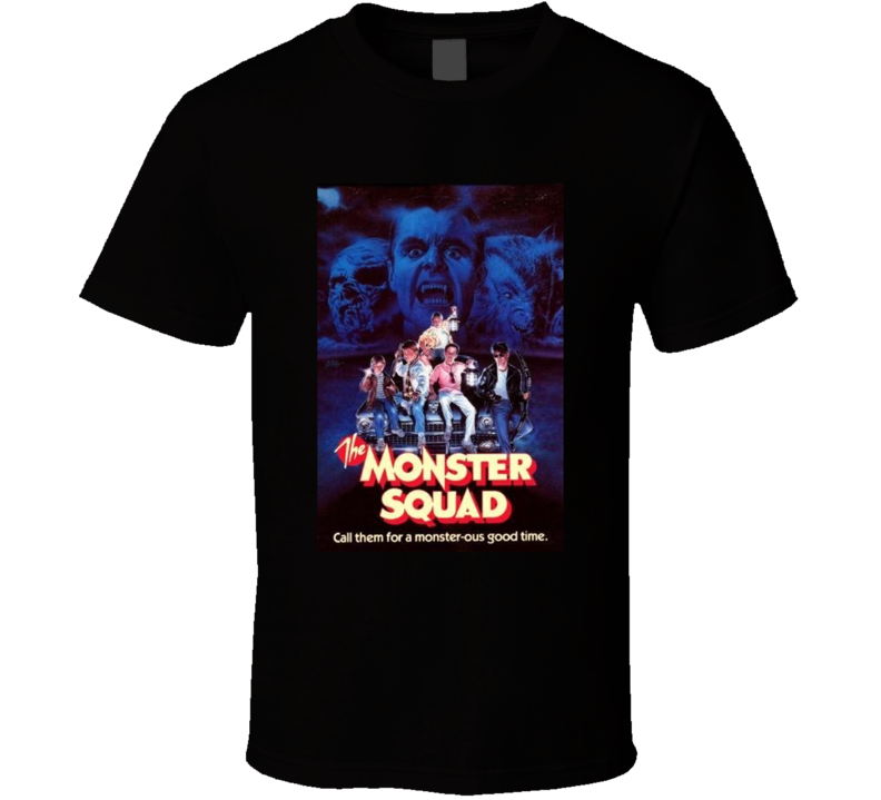 The Monster Squad Greatest Halloween Movie Fan T Shirt