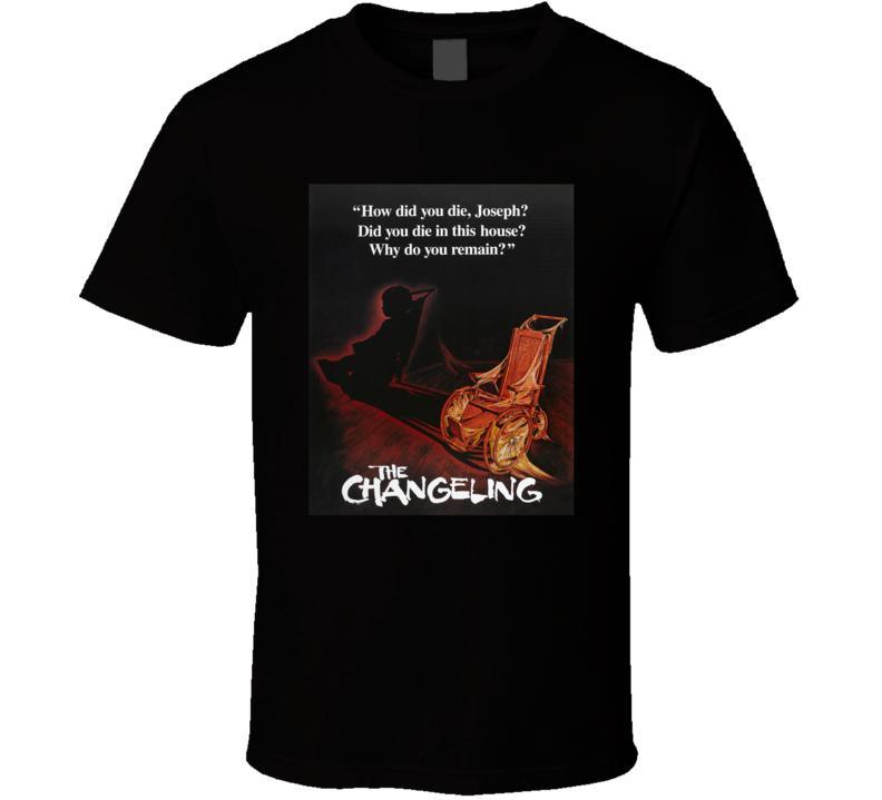 The Changeling Greatest Halloween Movie Fan T Shirt