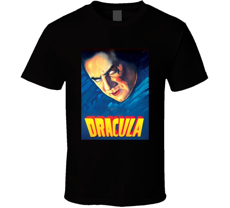 Dracula 1931 Greatest Halloween Movie Fan T Shirt