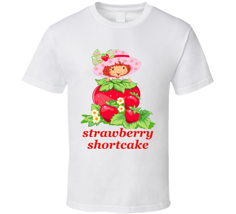 Strawberry Shortcake Cartoon Show T Shirt