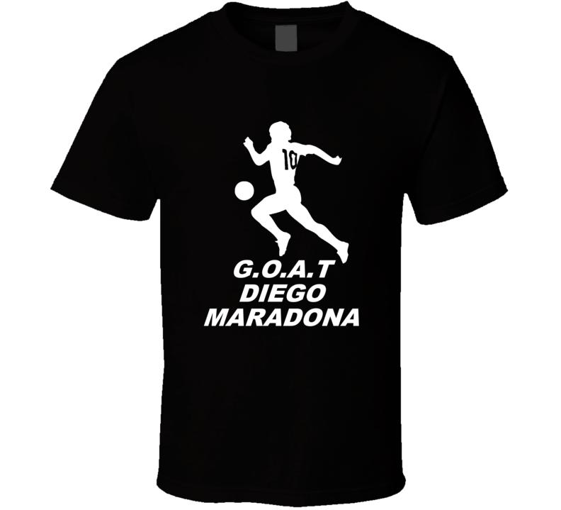 Diego Maradona Greatest Of All Time Argentina Soccer Legend T Shirt