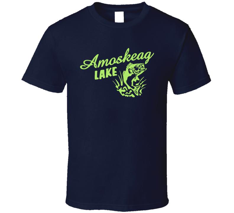 Amoskeag Lake Grown Ups Sandler Rock Kevin James Hayek Comedy Movie Fan T Shirt