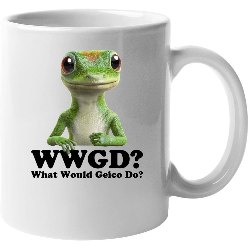 what Would Geico Lizard Do Mug