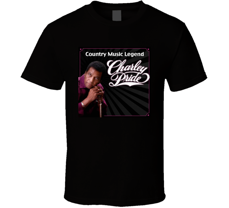 Charley Pride Country Music Legend T Shirt