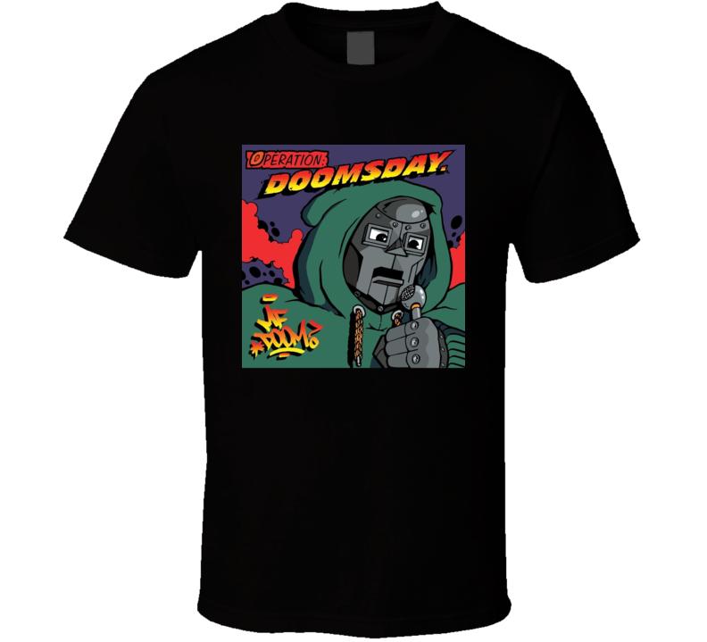 Mf Doom Mask Hip Hop Music T Shirt