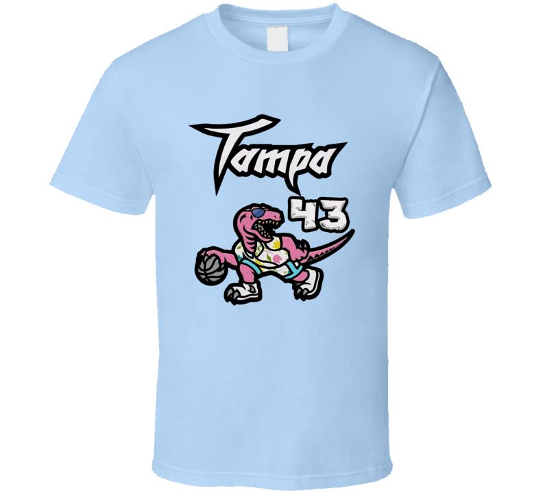 Pascal Siakam 43 Tampa Toronto Basketball Sports Fan T Shirt