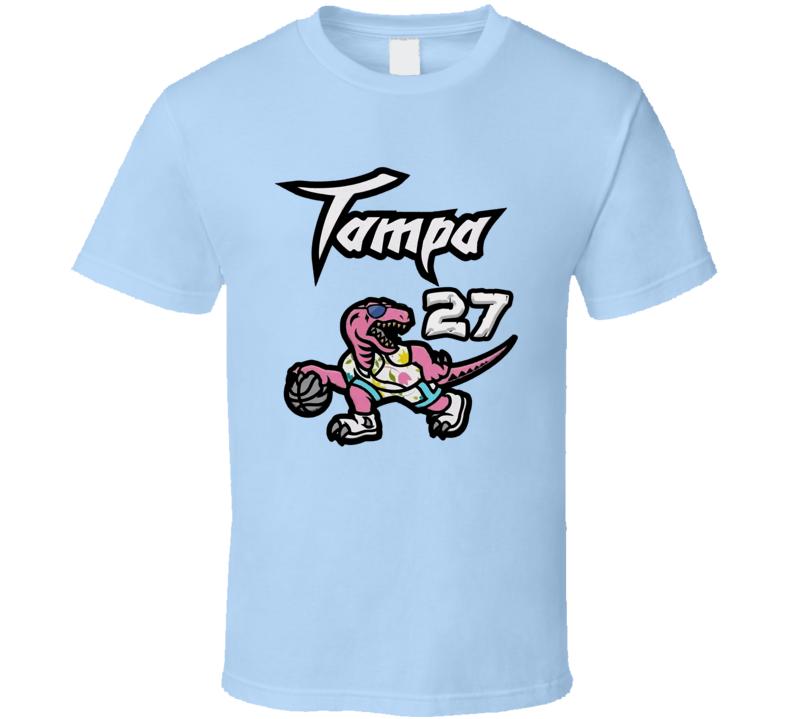 Alex Len 27 Tampa Toronto Basketball Sports Fan T Shirt