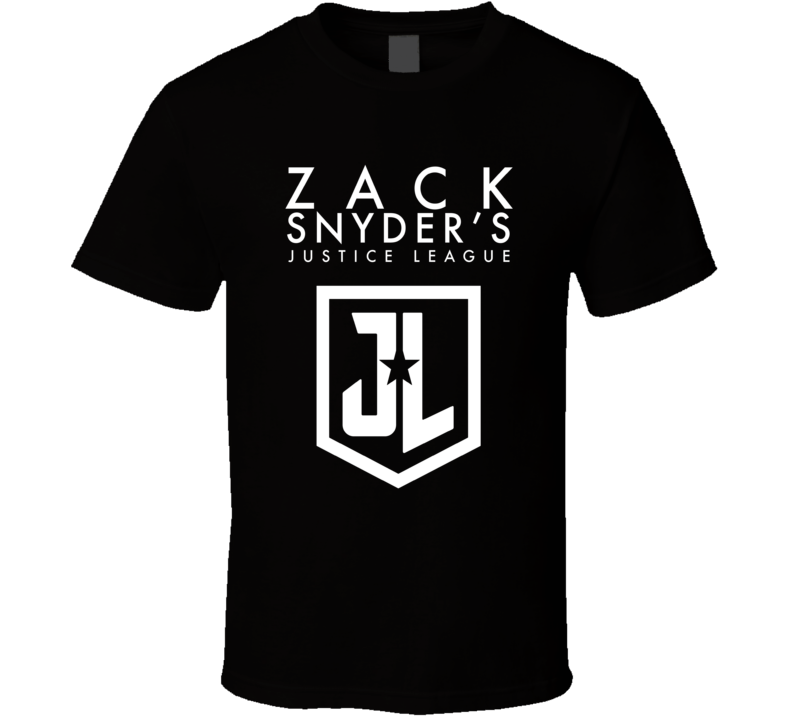 Justice League Zack Snyder Cut Real Deal Super Hero Movie Fan T Shirt