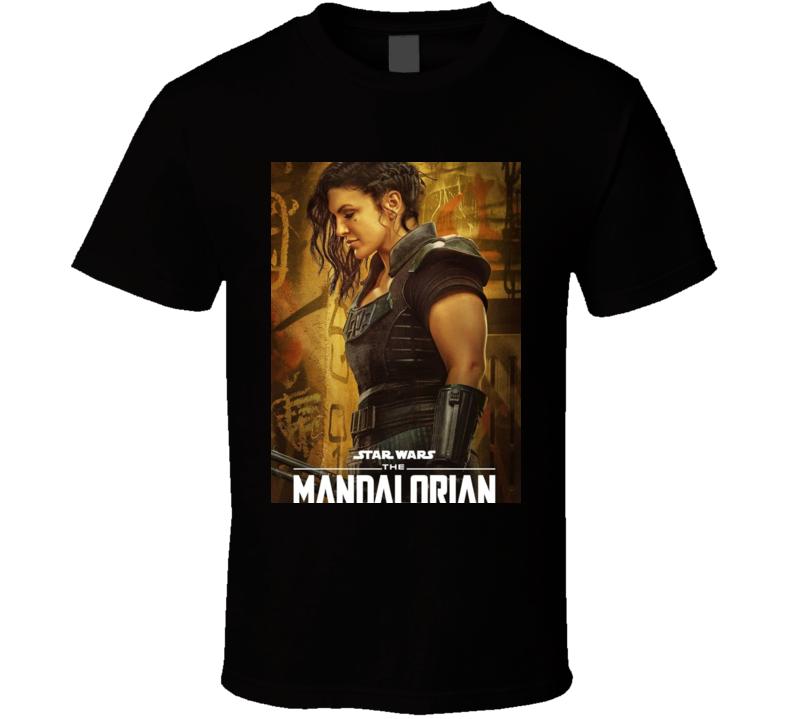 Gina Carano Cara Dune Mandalorian Fan T Shirt