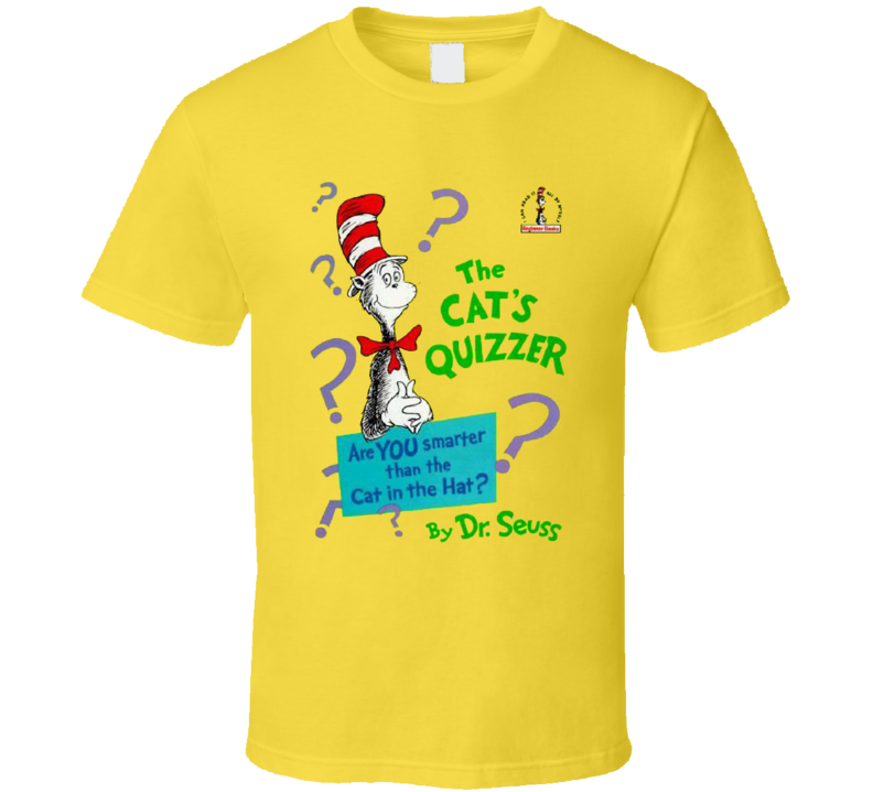 The Cats Quizzer Dr Seuss Books Cancelled Cartoon T Shirt