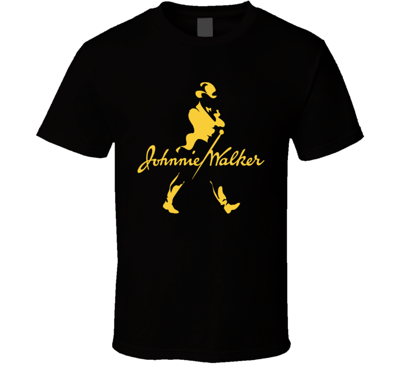 Johnnie Walker Scotch Whiskey Red Blue Gold T Shirt