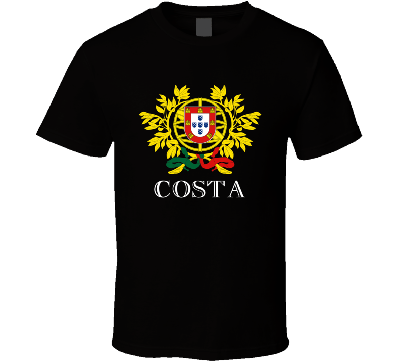 Coat Of Arms Costa T Shirt