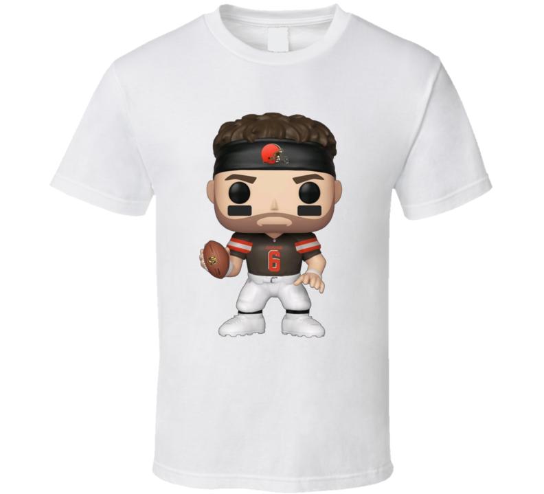 Baker Mayfield Cleveland Football Character T Shirt