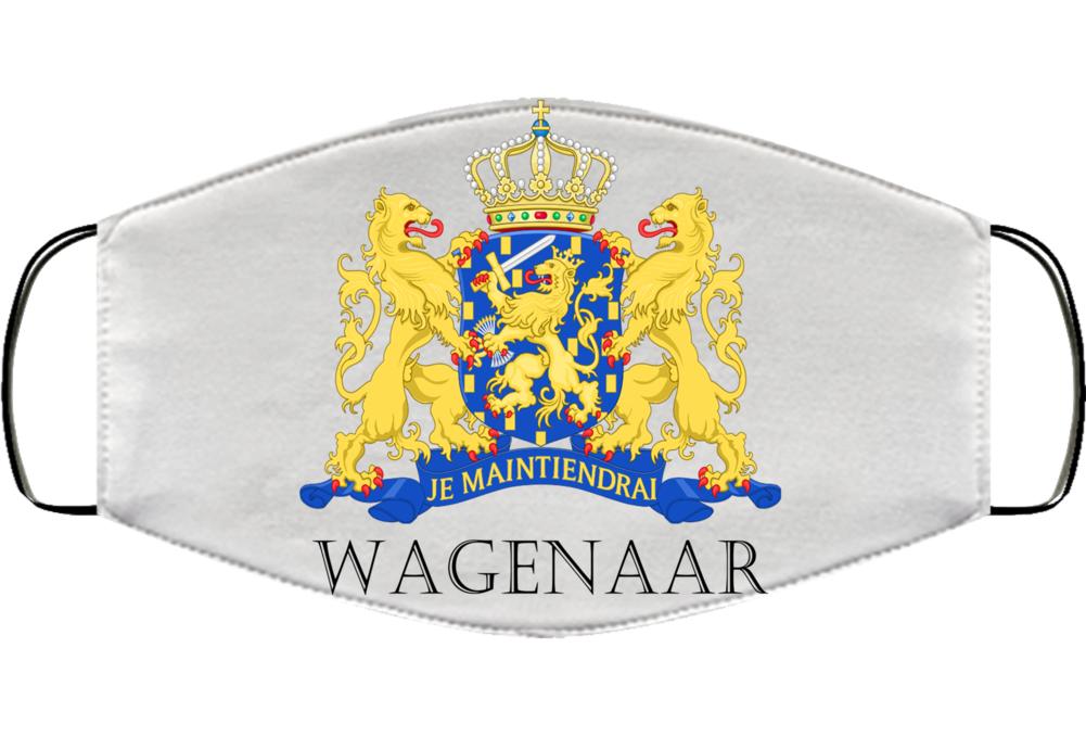 Wagenaar Dutch Last Name Surname Holland Netherlands Coats Of Af Arms Face Mask Cover