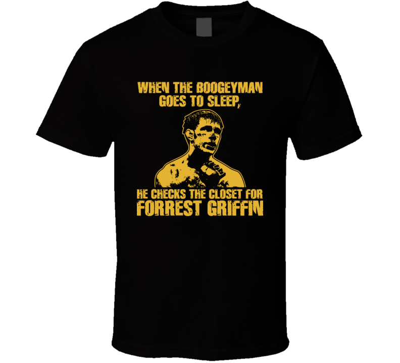 Forrest Griffin Mma Ultimate Fighter T Shirt