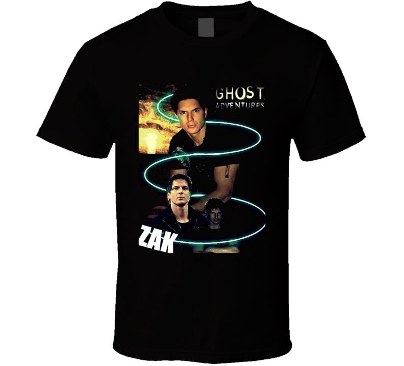 Ghost Adventures Zak  Bagans Zack T Shirt
