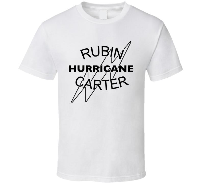 Rubin Hurricane Carter Boxing Champ T Shirt