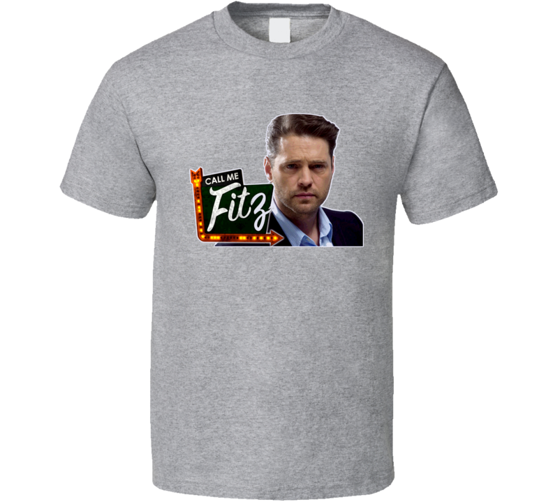 Call Me Fitz Hbo Jason Priestly Sign T Shirt