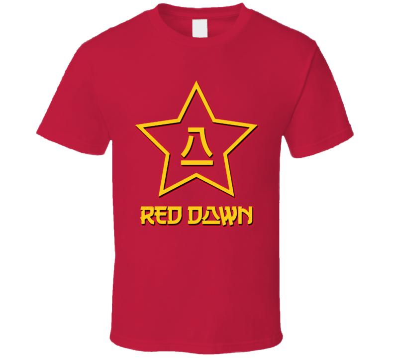 Red Dawn Russian Russia Cult Ussr Movie T Shirt