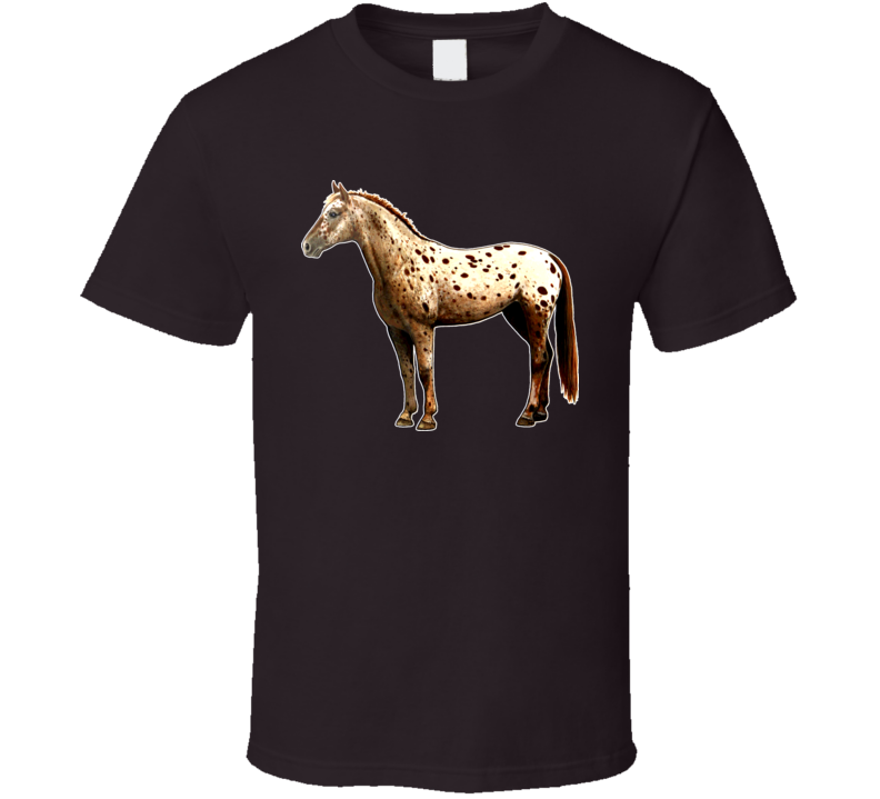 Appaloosa Horse Breed Animal Mare Filly T Shirt