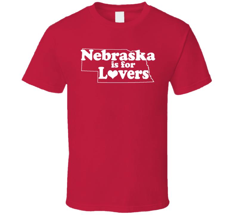 Nebraska Is For Lovers Dexter Ice Cream Killer T Shirt