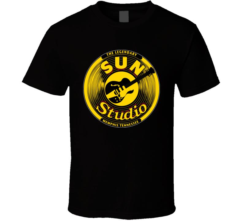 The Legendary Sun Studios Memphis Rock And Roll T Shirt