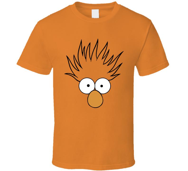 Beaker Face Muppets Funny Cool T Shirt