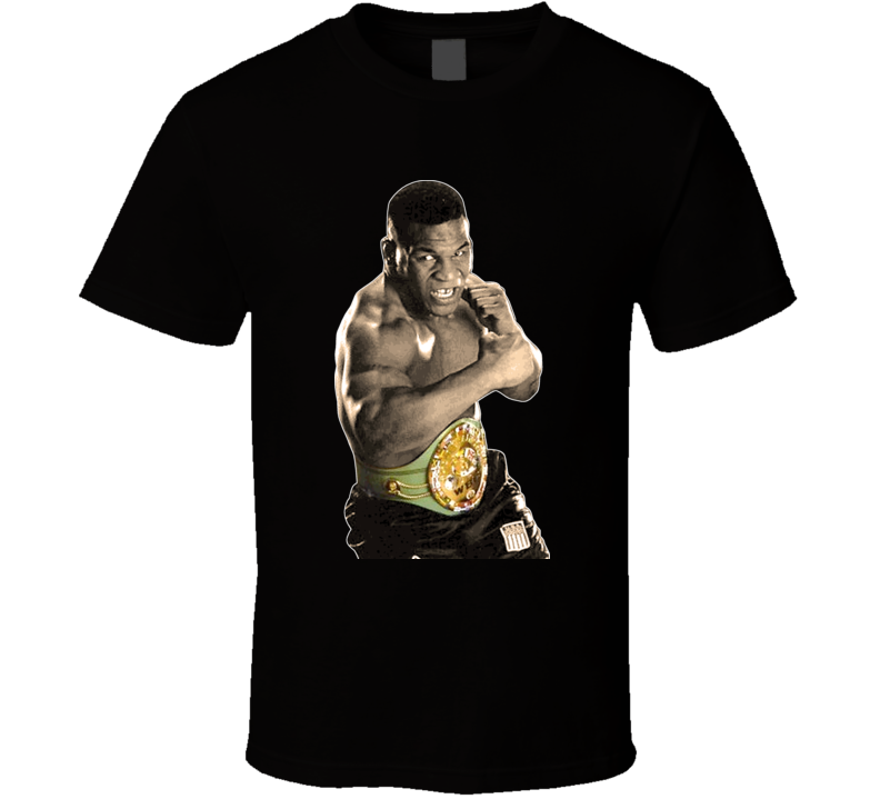 Mike Tyson Heavyweight Boxing Champion Hangover Punch Out T Shirt