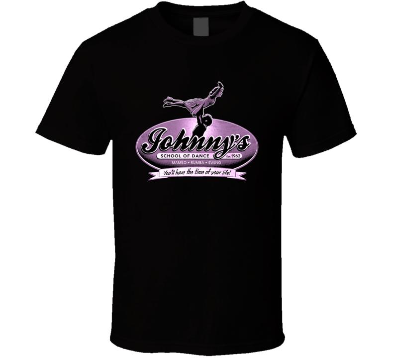 Johnny Castle School Of Dance Dirty Dancing Patrick Swayze T Shirt