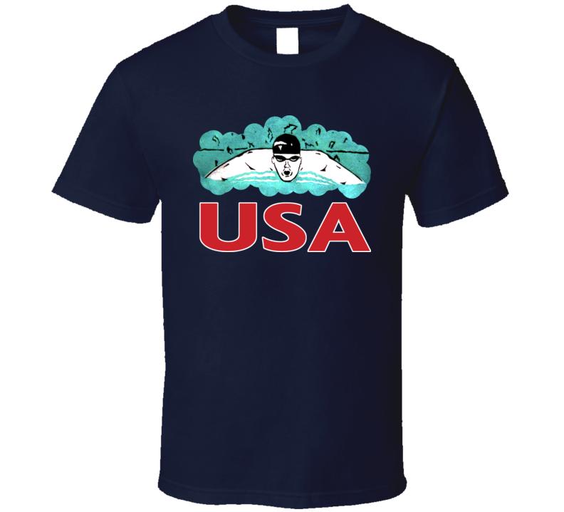Michael Phelps USA America Gold Swimming Swim Olympics London T Shirt