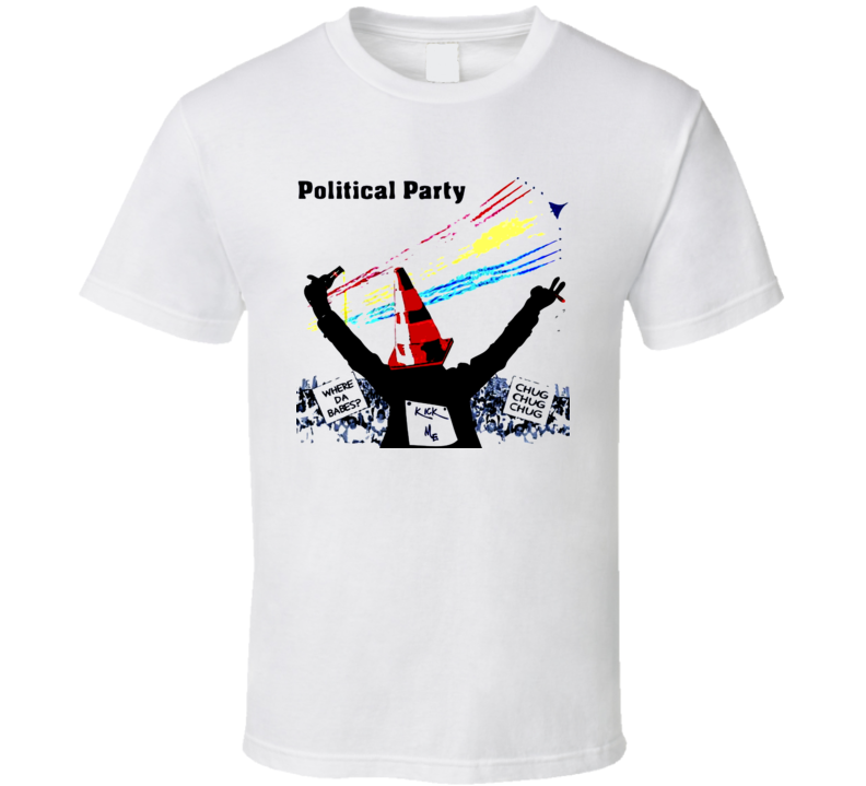 Political Party Funny Election College Chug Democrat Republican T Shirt