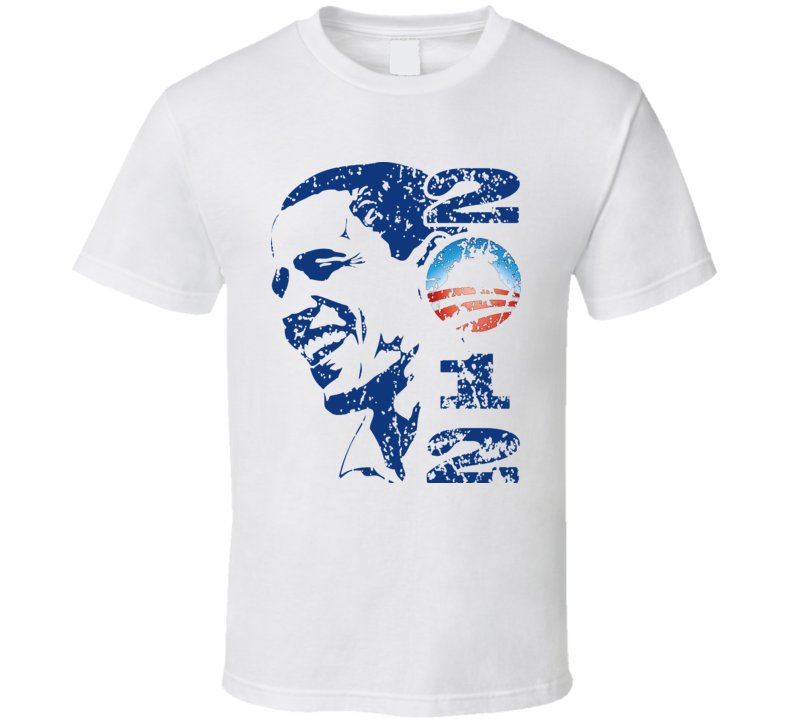 Barack Obama Barak America USA 2012 Political American T Shirt