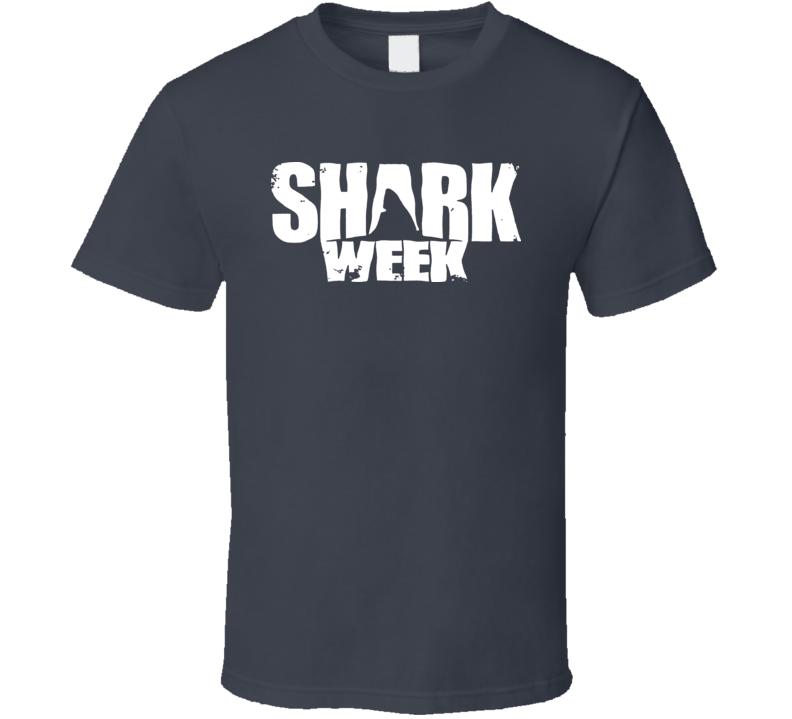 Shark Week Great White Jaws Animal Hammerhead Whale T Shirt