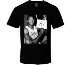 Kobe Bryant 81 Point Game T Shirt