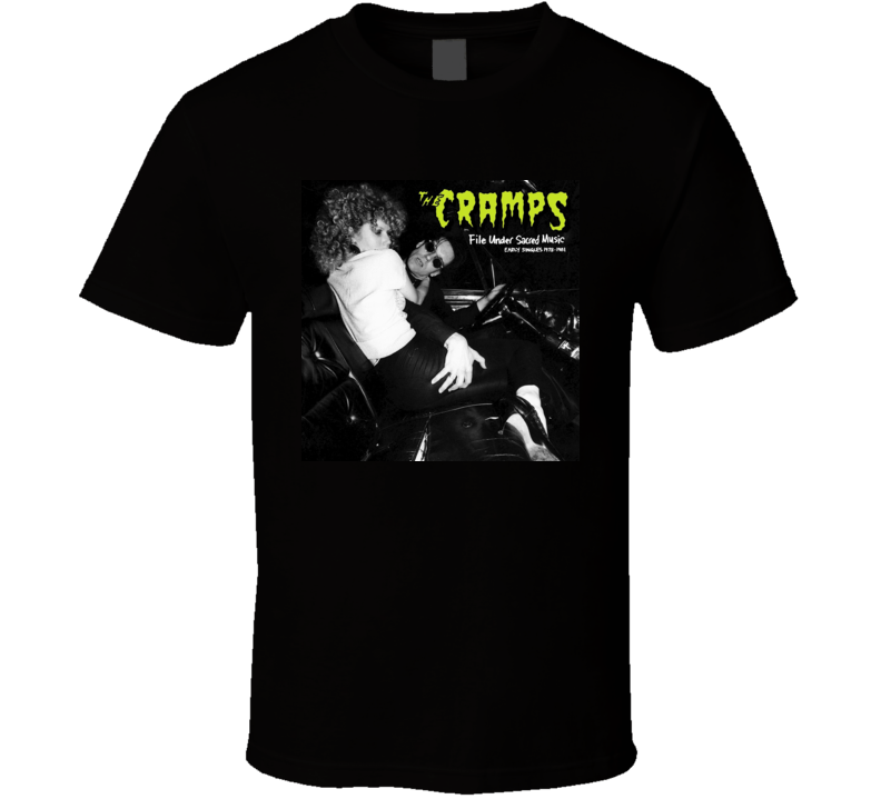 The Cramps Poison Ivy T-Shirt Psychobilly Punk Rock