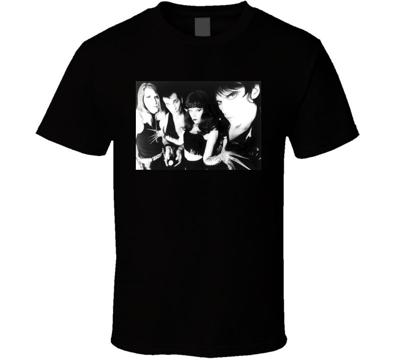 The Cramps Poison Ivy T-Shirt Psychobilly Punk Rock b