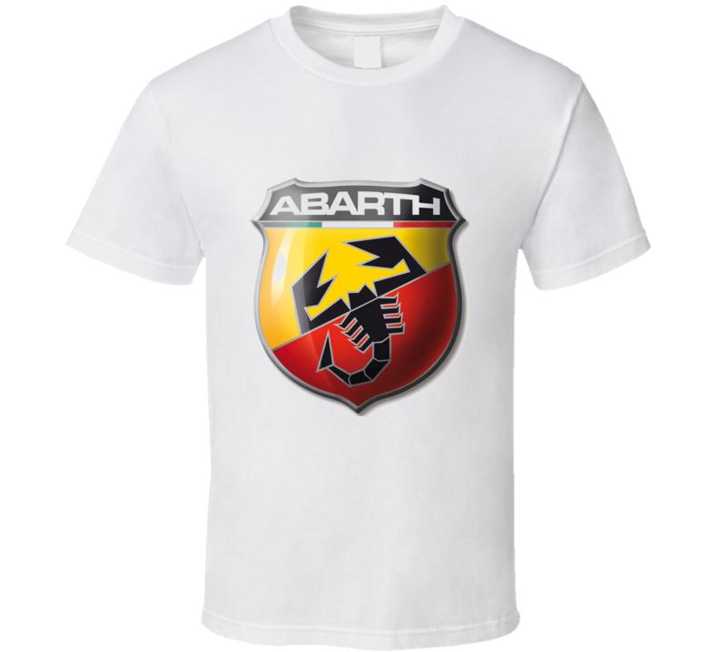 Fiat 500 Abarth Logo Racing Car Graphics Cool T Shirt