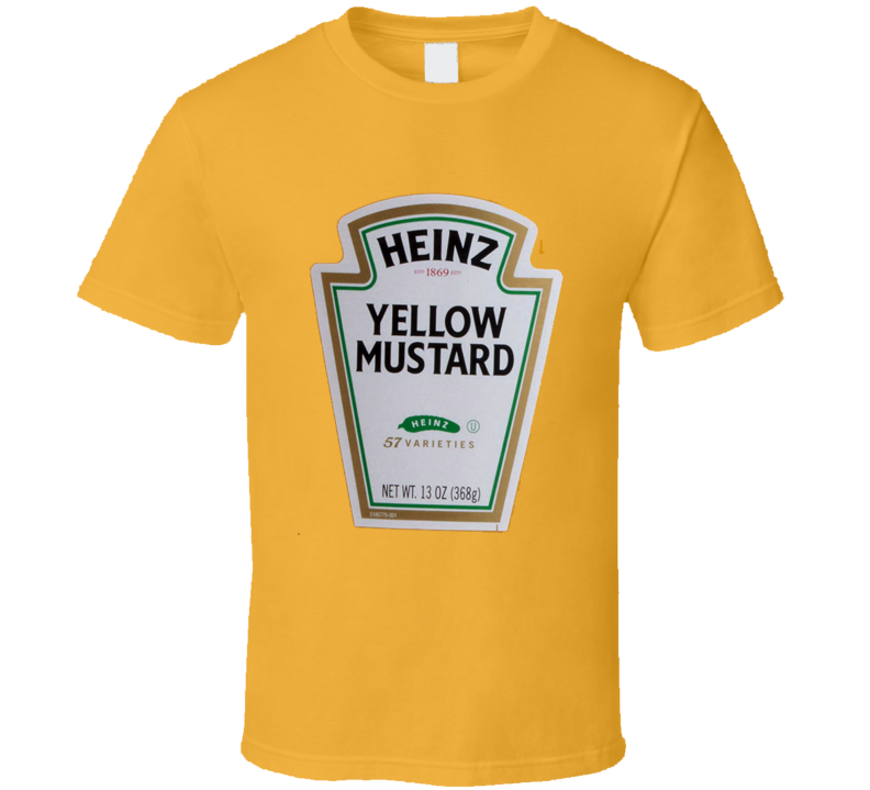 Heinz Yellow Mustard t-shirt