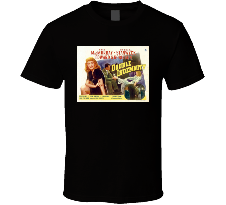 Double Indemnity movie T-Shirt