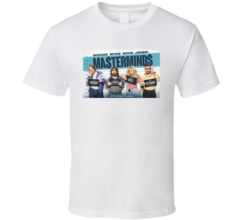 Masterminds Movie T-Shirt