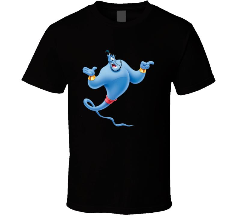 Aladdin Genie Robin Williams T Shirt