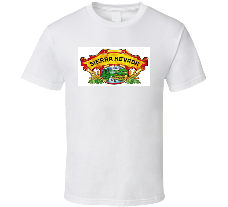 Sierra Nevada Logo Beer T Shirt